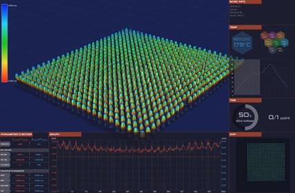 IC(BGA) - コプラナリティ測定の説明画像