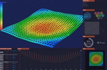 IC(BGA) - パッケージの反り測定の説明画像