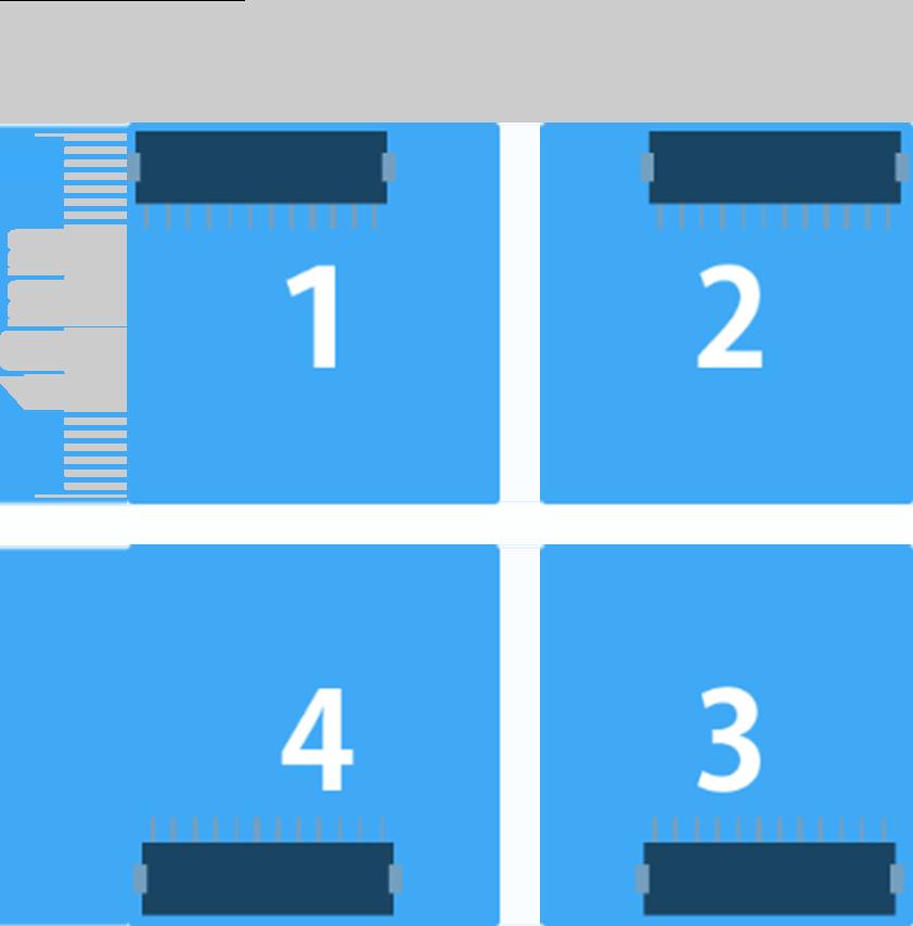 最大4サンプル同時測定の説明画像