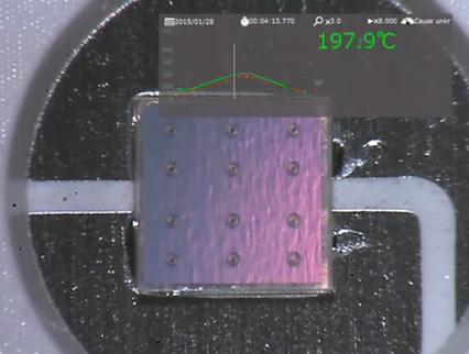 LED - フリップチップセルフアライメントの説明画像