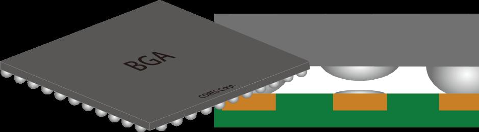 IC(BGA)用アプリケーションの説明画像