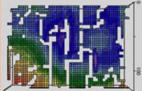 レーザー測定の画像